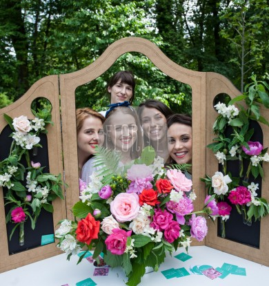 Photo corner pentru nuntă