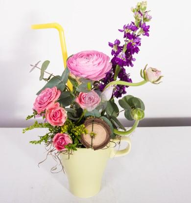 coktail floral