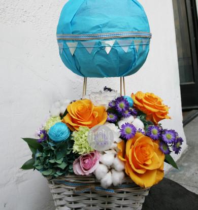 Balonul cu vise colorate