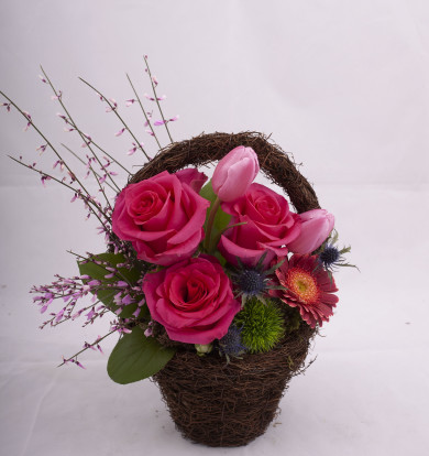 Cosulet cu flori